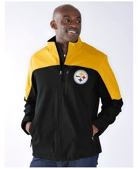 G3 Sports Men's Pittsburgh Steelers Completion Jacket Black