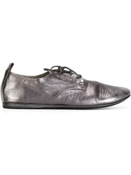 Marsell Marsell Metallic Derby Shoes Grey