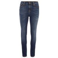 Nudie Jeans Women's Pipe Led Denim Jeans Navy Night Blue