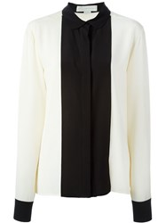 Stella Mccartney Peter Pan Collar Blouse Nude And Neutrals