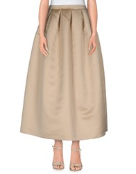 Rochas Skirts Long Skirts Women Beige