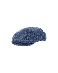 Grevi Hats Slate Blue