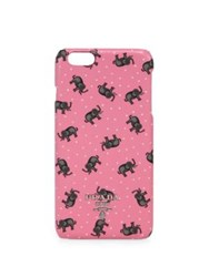 Prada Elephant Saffiano Leather Iphone 6 Case Rosa