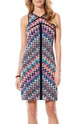 Women's Laundry By Shelli Segal Chevron Stripe Jersey Sheath Dress