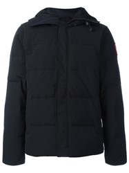 Canada Goose Hooded Puffer Coat Black