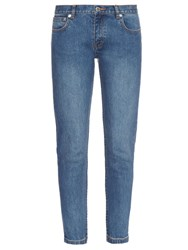A.P.C. Etroit Court Low Rise Skinny Jeans