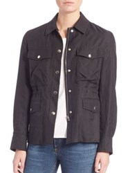 Rag And Bone Snap Field Jacket Black
