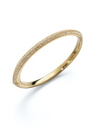 Adriana Orsini Knife Edge Bangle Bracelet Gold