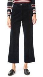 Mih Jeans Coler Flare Pants Navy