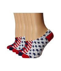 Converse Bars And Stars Red Blue White Women's No Show Socks Shoes