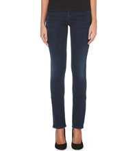 Gold Sign Misfit Slim Mid Rise Jeans Chelsea