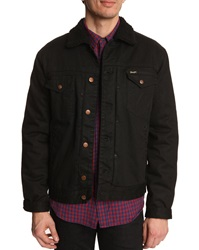 Wrangler Waterproof Black Denim Jacket