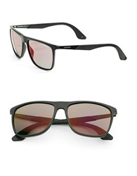 Carrera 56Mm Wayfarer Sunglasses Matte Black