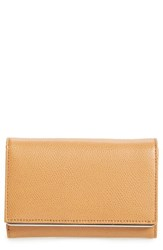 Women's Halogen Bar Leather Trifold Wallet