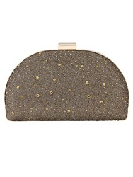 Phase Eight Ivy Sparkle Clutch Bag Bronze