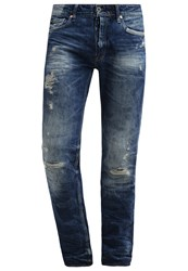 Japan Rags Straight Leg Jeans Blue