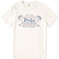 Polo Ralph Lauren Williamsburg Vintage Rl Logo Tee White