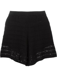 See By Chloa Knitted Shorts Black