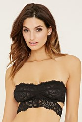 Forever 21 Strapless Cutout Lace Bralette