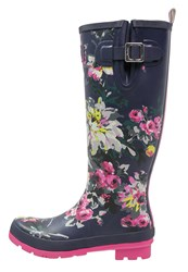 Joules Tom Joule Wellies French Navy Dark Blue