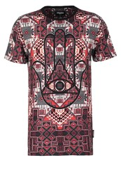 Jaded London Print Tshirt Red