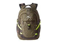High Sierra Fat Boy Backpack Stealth Black Backpack Bags Beige