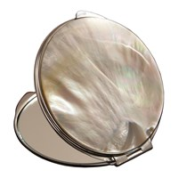 Cedes Milano Mother Of Pearl Bag Mirror