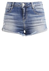 Ltb Amelie Denim Shorts Lanis Wash Stone Blue