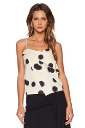 Marc By Marc Jacobs Blurred Dot Tank Beige