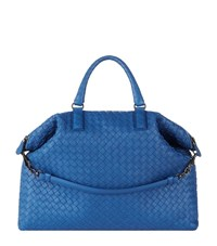 Bottega Veneta Medium Intrecciato Convertible Bag Female Peacock