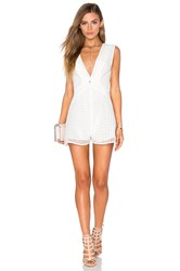 Finders Keepers Begin Playsuit White