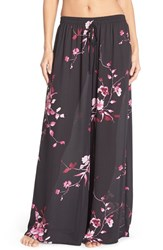 Women's Band Of Gypsies Floral Print Palazzo Pants