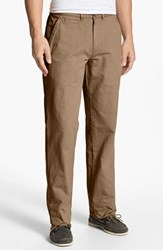 Men's Vintage 1946 'Military' Relaxed Fit Chinos British Tan