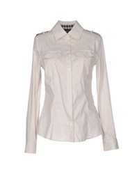 Aquascutum London Aquascutum Shirts Shirts Women Light Grey