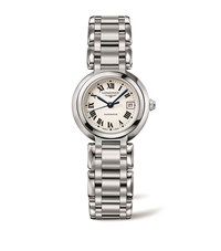 Longines Prima Luna Automatic Watch Unisex White