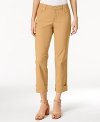 Styleandco. Style Co. Cuffed French Birch Wash Jeans Only At Macy's Light Mango
