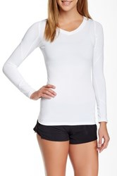 Ryu Tanto Long Sleeve Compression Top White