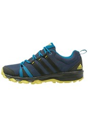 Adidas Performance Trail Rocker Trail Running Shoes Collegiate Navy Core Black University Blue Dark Blue