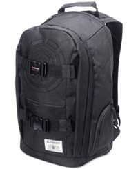 Element Men's Mohave Logo Graphic Backpack Black