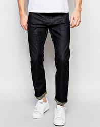 G Star G Star Jeans 3301 Tapered Fit Raw Brooklyn Dark Denim Raw Blue