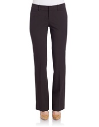 Lord And Taylor Petite Bootcut Dress Pants Pinot Noir
