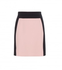 Emilio Pucci Stretch Wool Skirt Pink
