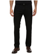 Agave Denim Modernist Terry Denim Jean In Black Black Men's Jeans