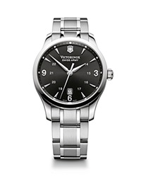 Victorinox Swiss Army Alliance Black Dial Watch 40Mm