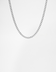 Cheap Monday No Diamond Necklace Exclusive To Asos Silver