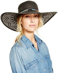 San Diego Hat Company Embellished Floppy Hat Black