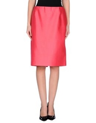 Gianfranco Ferre' Knee Length Skirts Coral