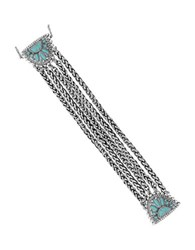 Lucky Brand Turquoise Natives Turquoise Tribal Link Bracelet