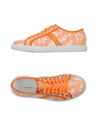 Alessandro Dell'acqua Low Tops And Trainers Orange