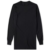 Rick Owens Drkshdw Long Sleeve Level Tee Black